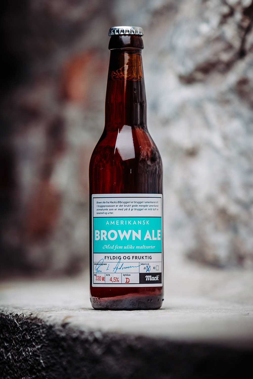 Flaske brown ale